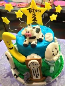 Nursery rhyme cake