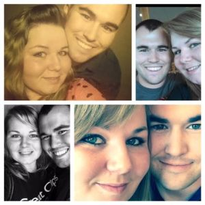 A collage of Mr. & Mrs. Ross-Roth  ;)