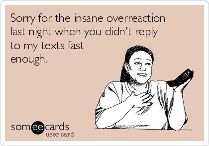 overreact